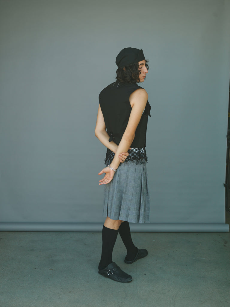 Glen Check Kilt Skirt