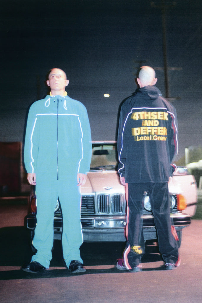 [collection_title] 4THSEX AND DEFFER Local Crew Track Jacket - DEPARTAMENTO