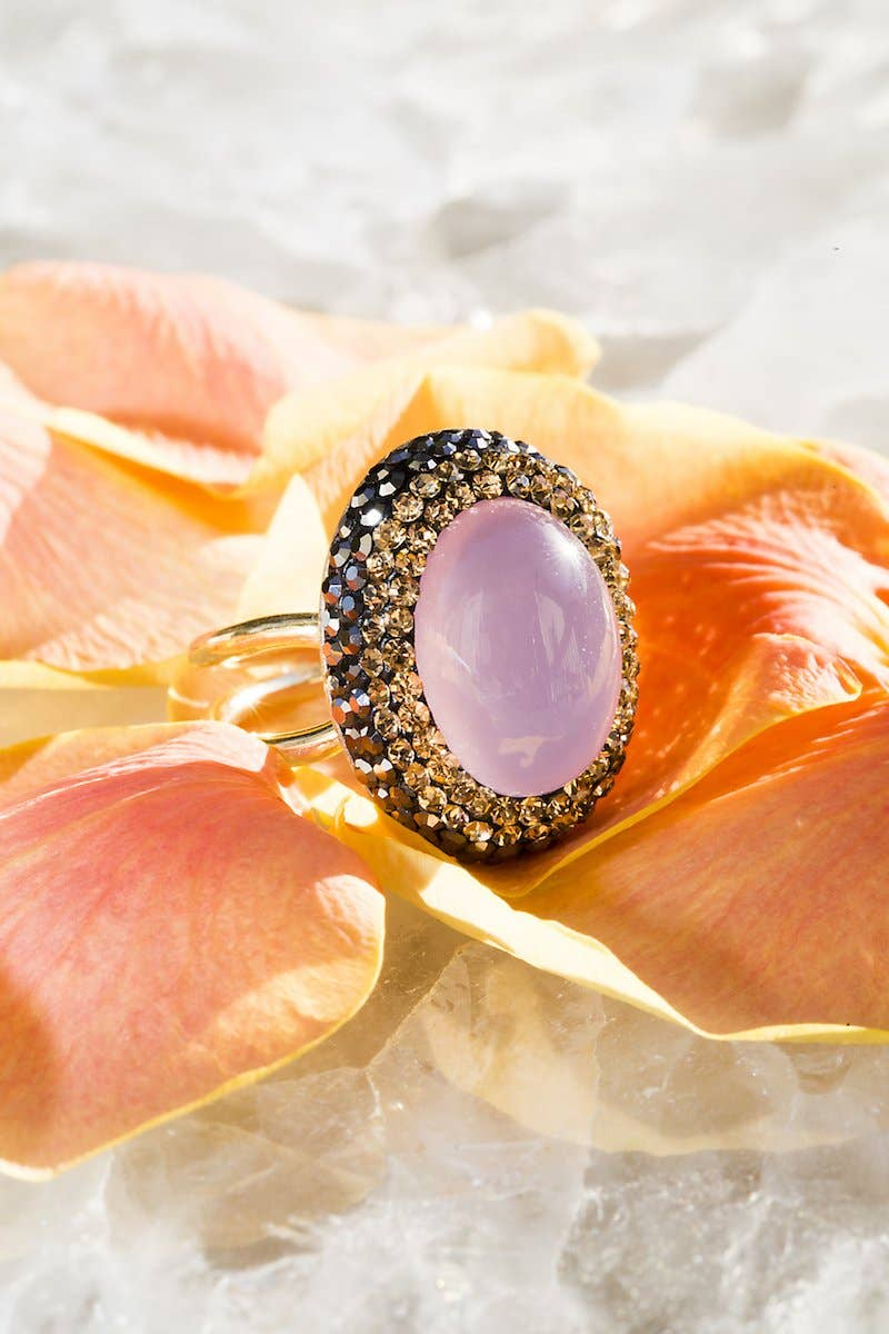 Rose Quartz Ilume Ring