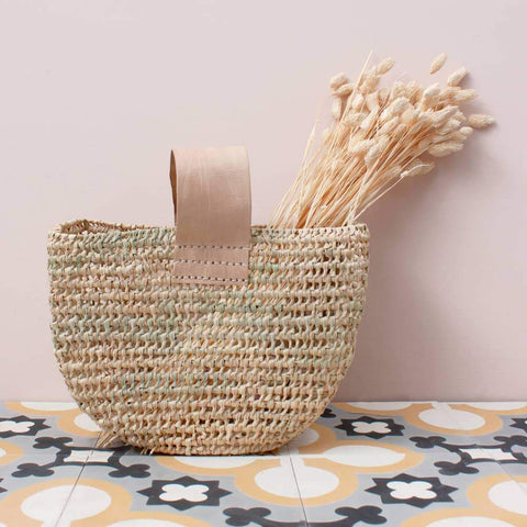 Half Moon Forage Basket