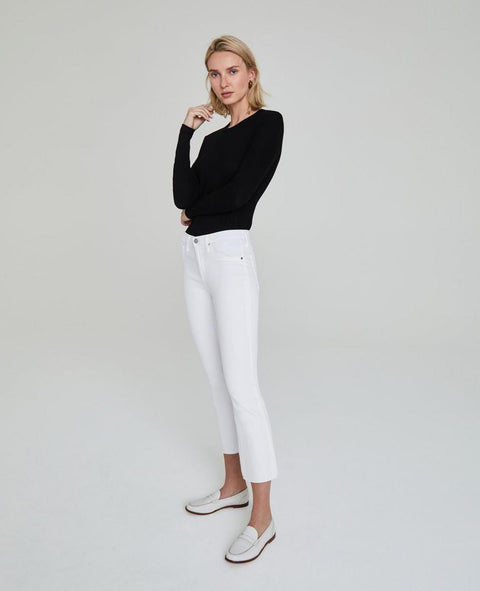 Jodi Crop - White