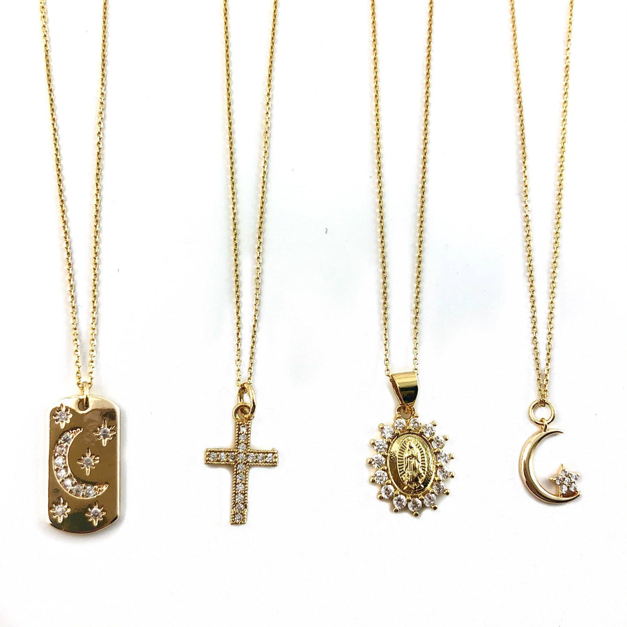 Nikki Smith Designs - Rosie Gold Necklaces