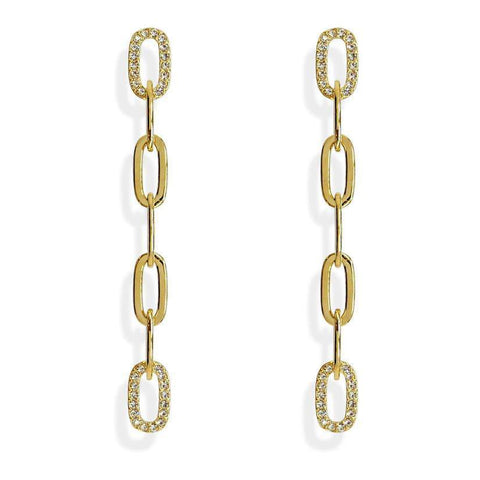 Love Link Chain Earrings - 2 colors