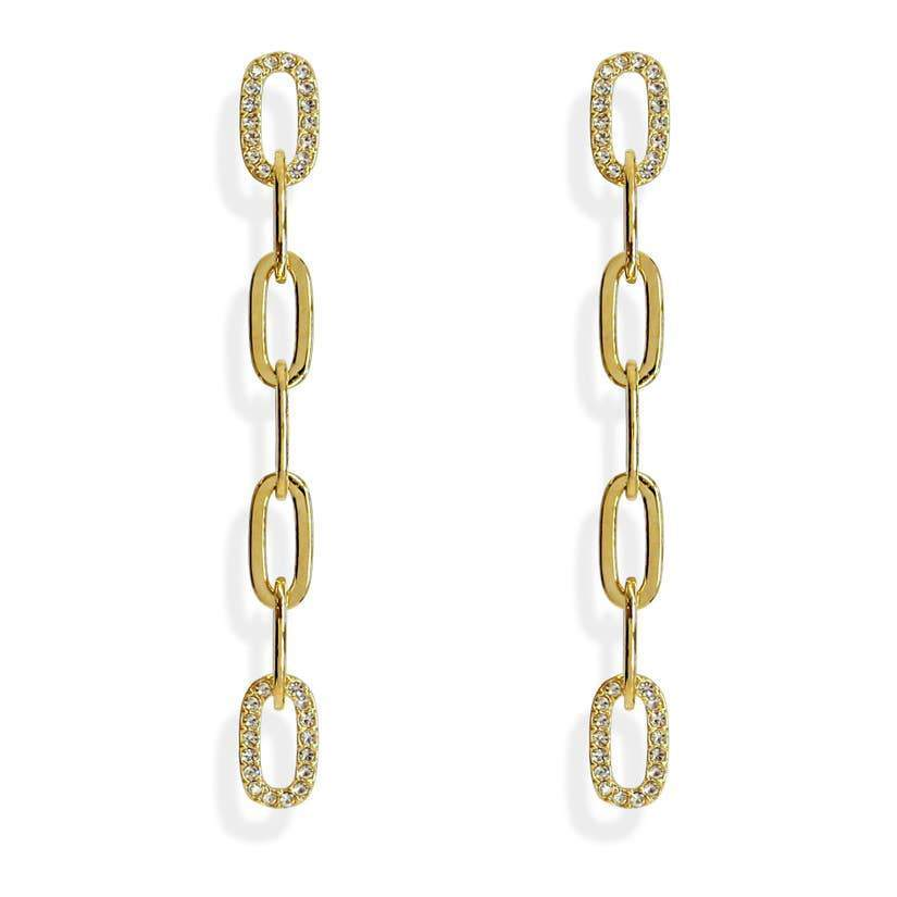 Love Link Chain Earrings