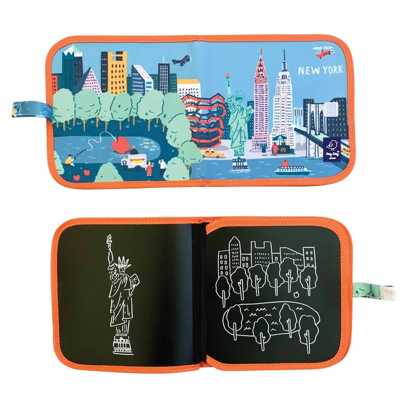 Cities of Wonder Erasable Book