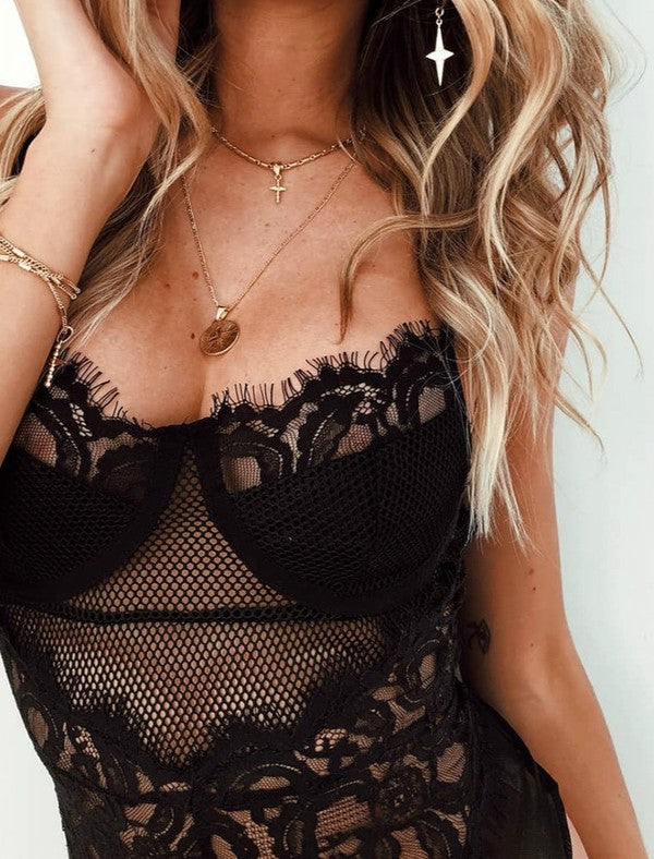 "The ""Lace Me"" Bodysuit"