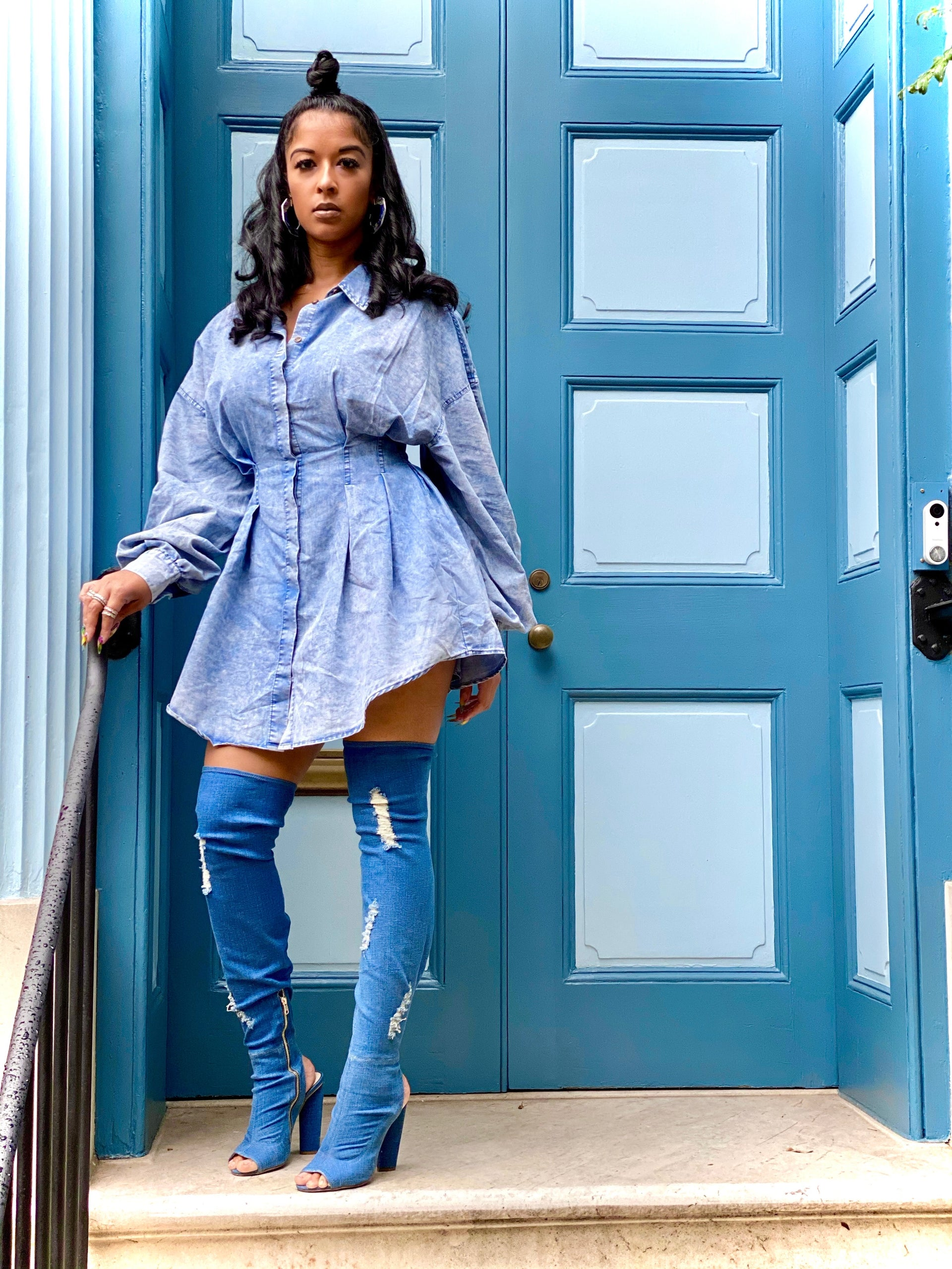 Ms. Denim Jean Dress
