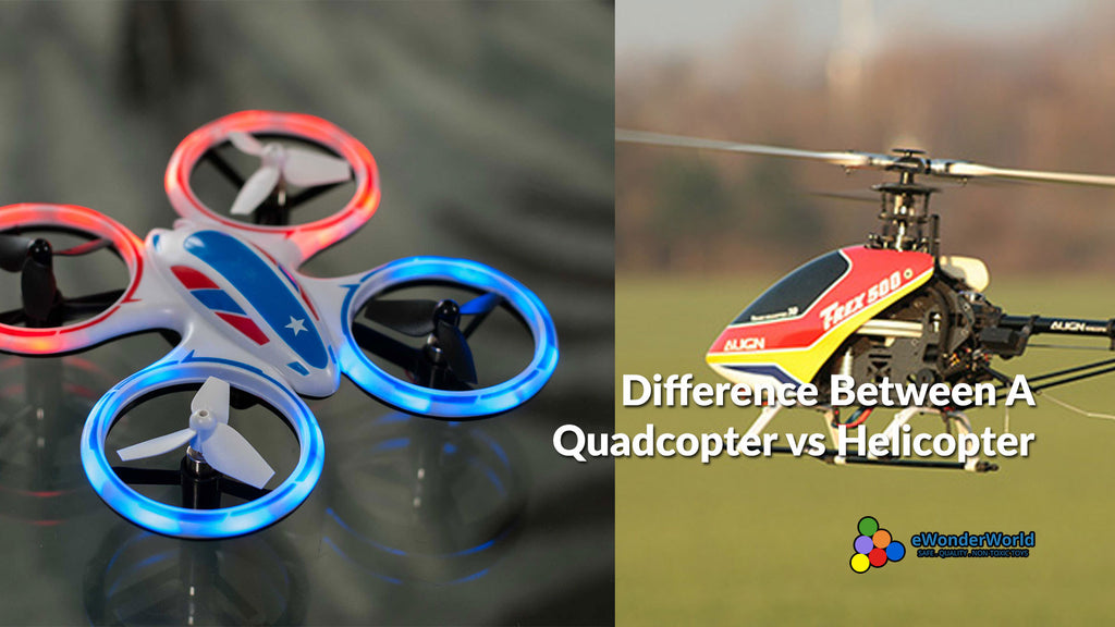 What Is The Difference Between a Quadcopter vs a Helicopter?