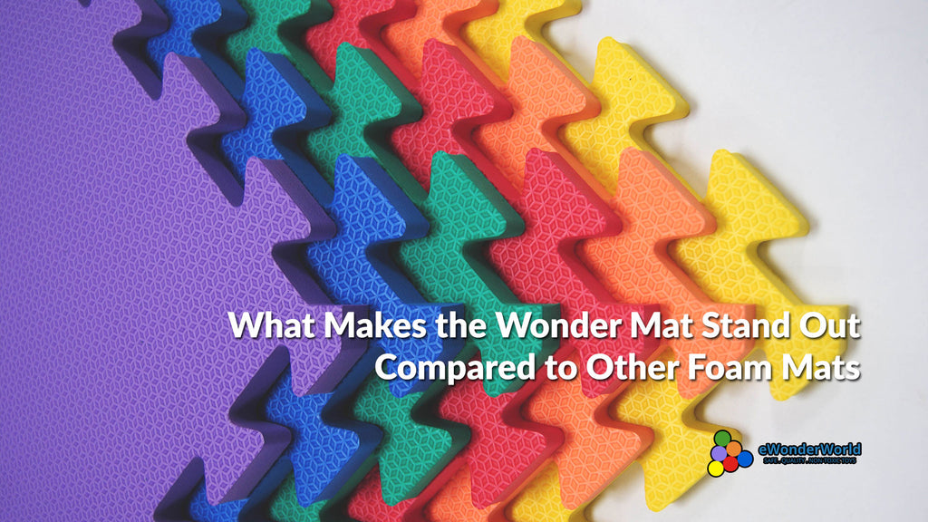 What Makes The Wonder Mat Foam Mat Different From Other Interlocking Foam Mats Out There?