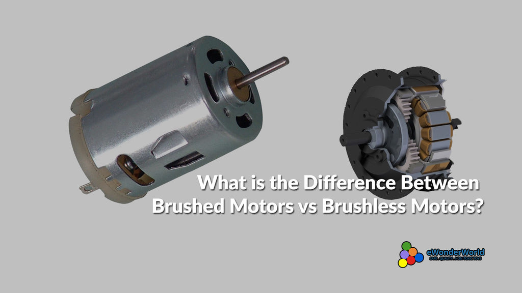 What is the Difference Between Brushed Motors vs Brushless Motors?
