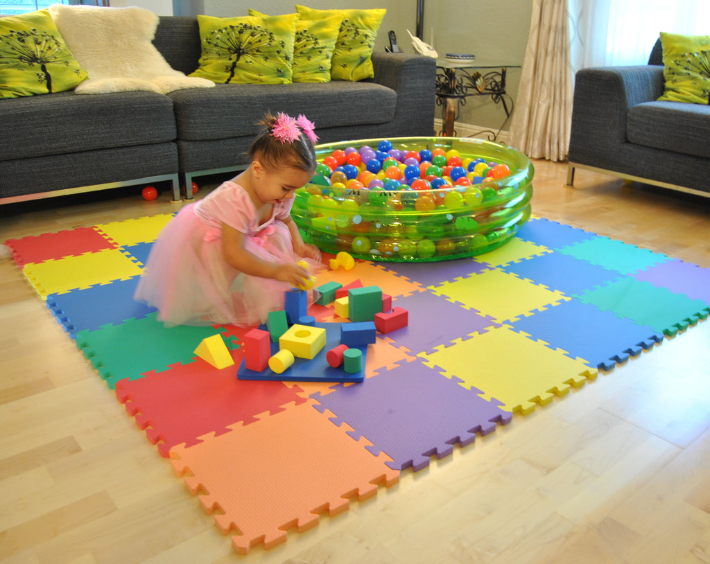 Wonder Blocks Non-Toxic Floating Foam Blocks Bathtub Toys - eWonderWorld