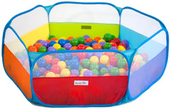 Rainbow Hexagon Twist Playpen
