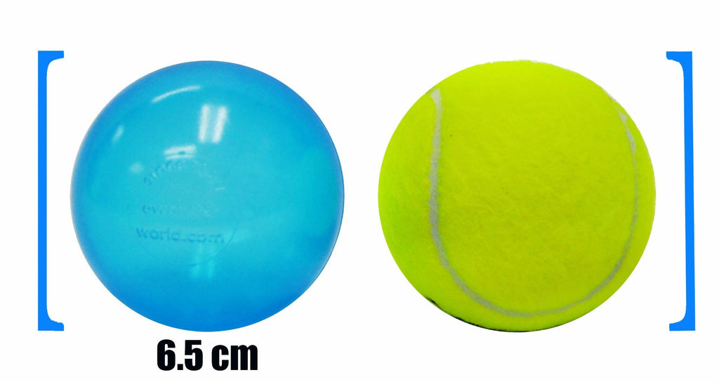 Wonder Playball 200 Invisiball Crush Proof Ball Pit Balls: 10 Colors - eWonderWorld