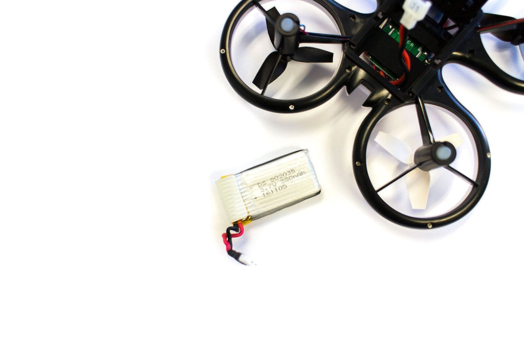 Sky Patroller Drone Replacement Battery: 3.7V 380mAH Rechargeable Lithium Polymer Battery - eWonderWorld