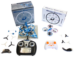 LED Sky Patroller Quadcopter and Fighter Jet Quadcopter Combo Deal