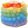 Image of 200 Non-Toxic Crush-Proof Wonder Play Balls w/ Polka Dot Hexagon Playpen - eWonderWorld
