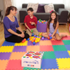 Image of Non-Toxic Rainbow (6 Colors) Wonder Mats Interlocking Foam Mats: 36 Pieces