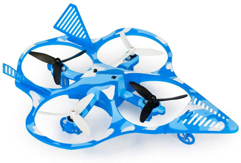 Blue Camo Fighter Jet Quadcopter