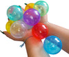 Image of Wonder Invisiball 100 Clear Ball Pit Balls w/ Toss Zone: 6 Colors