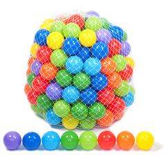 Image of Wonder Playball 200 Ball Pit Balls Net Edition: 8 Colors