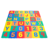 Image of 36 Pieces Alphanumeric Foam Mats (A-Z, 0-9) - eWonderWorld