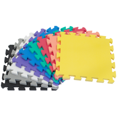 Image of 36 Pieces Non-Toxic Wonder Mats: 1 Color