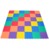 Image of Non-Toxic Rainbow (6 Colors) Wonder Mats Interlocking Foam Mats: 36 Pieces - eWonderWorld