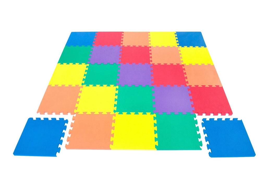 Wonder Mat Non-Toxic 25 Pieces Extra Thick Playmat - eWonderWorld