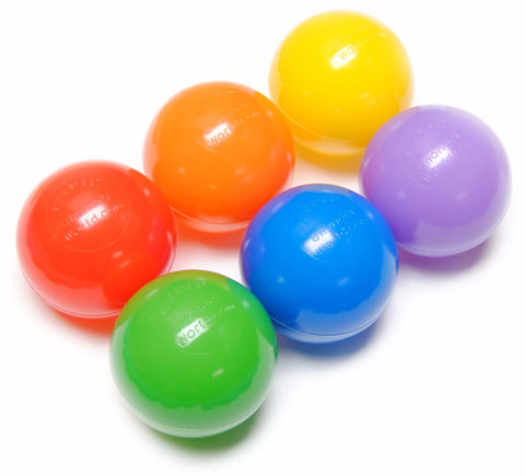 6 color ball pit balls