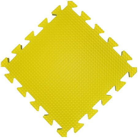 premium wonder mat 36 piece nontoxic foam floor mats yellow
