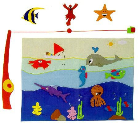 Fisherman Kit Cloth Soft Toy for Children