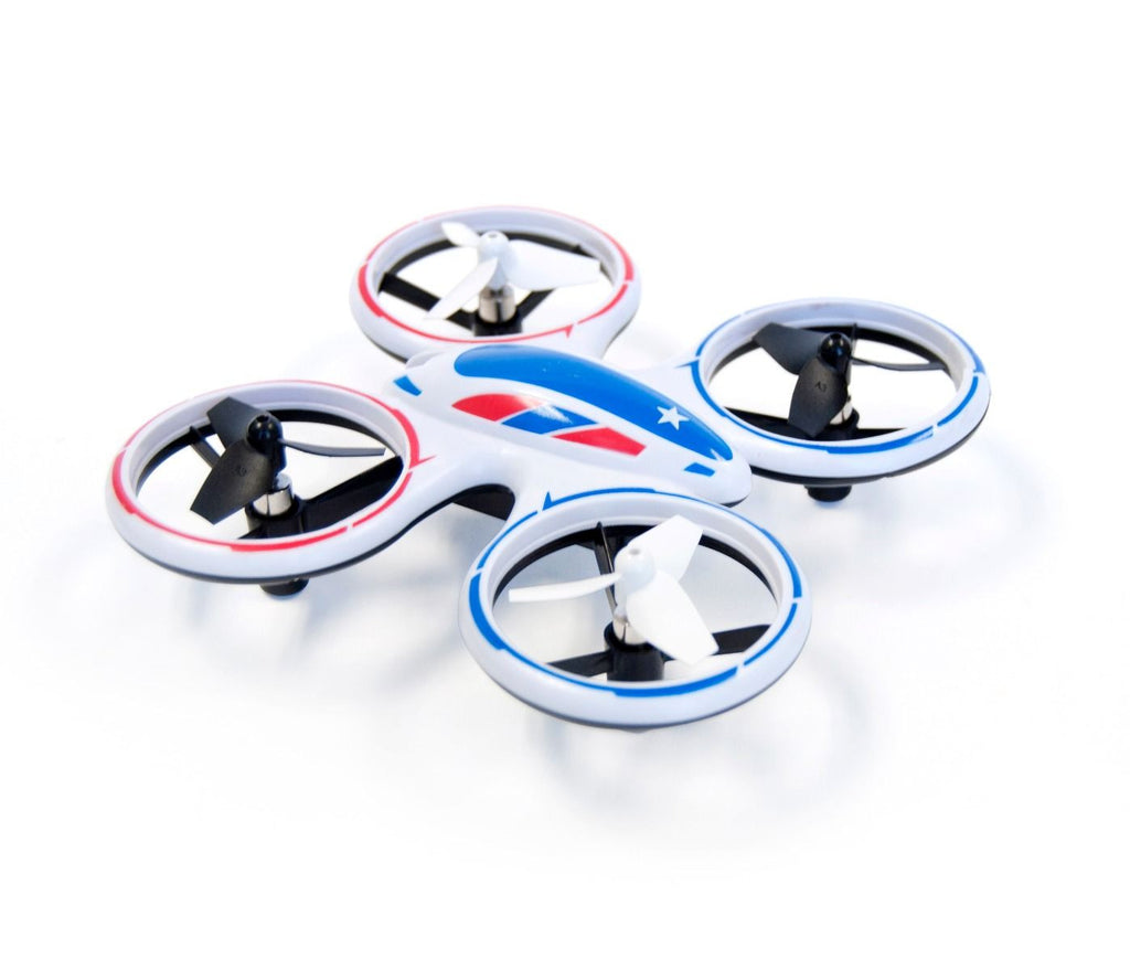 Wonder Chopper Sky Patroller LED Stunt Drone Quadcopter - eWonderWorld