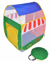 Pretend Garden Twist Play Tent w/ Safety Meshing - eWonderWorld