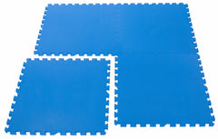Non-Toxic Large BLUE Wonder Mats Interlocking Foam Mats: Set of 4