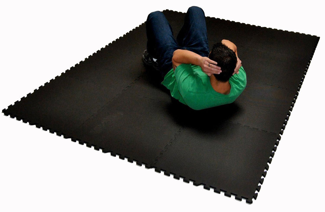 48 Square Feet Large Interlocking Foam Floor Tiles Set For