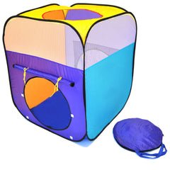 Sunshine Square Play Tent w/ Safety Mesh - eWonderWorld