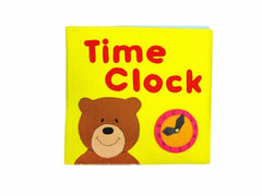 Time Cloth Book Soft Toy