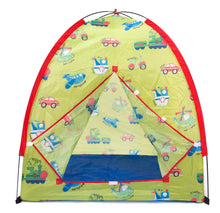 Transportation Play Tent w/ 100 Crush-Proof Non-Toxic Rainbow Invisiballs