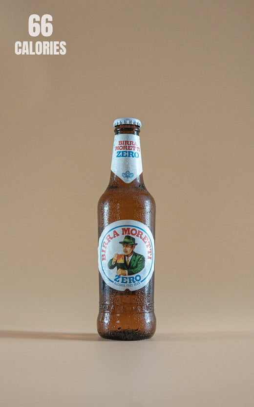LightDrinks - Birra Moretti Zero Alcohol Free Beer 0.05% - 330ml