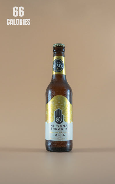 LightDrinks - Nirvana Brewery Bavarian Helles Lager Alcohol Free 0.3% - 330ml