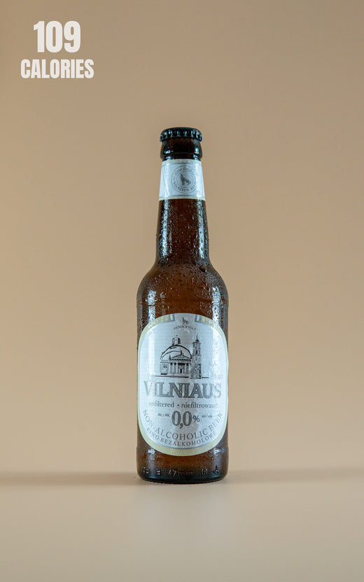 LightDrinks - Vilniaus Alus Non Alcoholic Beer 0.0% - 330ml