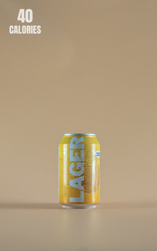 LightDrinks - Big Drop Brew Lager Cans 0.5% - 330ml