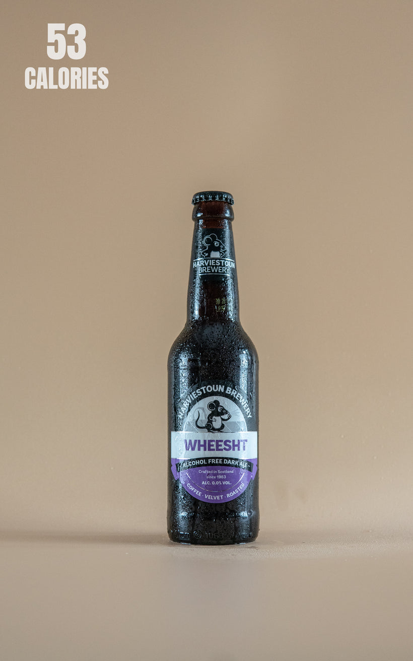 LightDrinks - Harviestoun Brewery Wheesht Dark Ale Alcohol Free 0% - 330ml