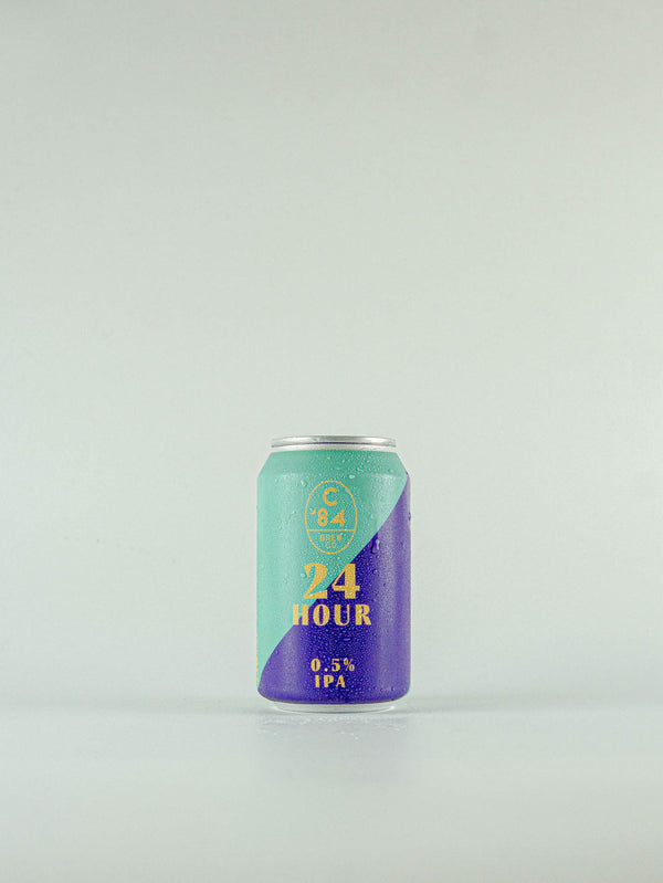 C'84 Brew Co 24 Hour IPA 0.5% - 330ml