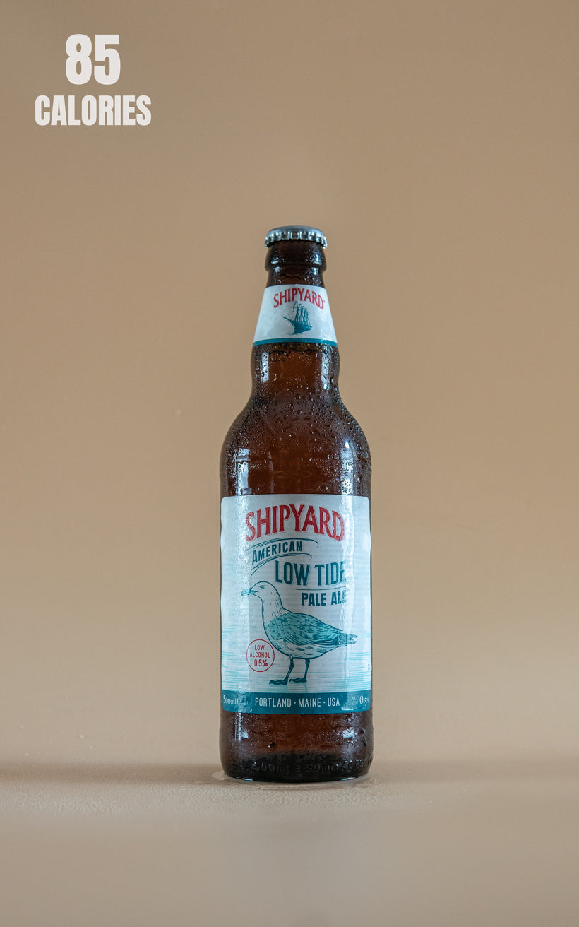 LightDrinks - Shipyard Low Tide Low Alcohol Pale Ale 0.5% - 500ml