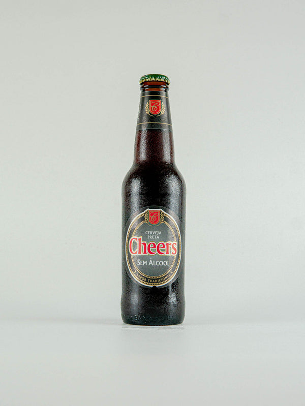 Cheers Preta 0.5% -  330ml - LightDrinks