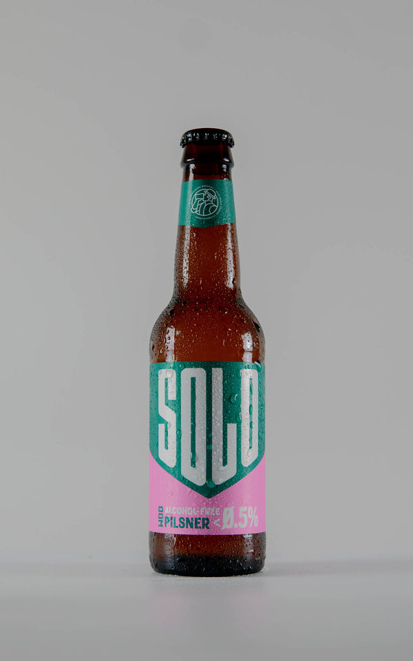 West Berkshire Brewery Solo Alcohol Free Pilsner 0.5% - 330ml