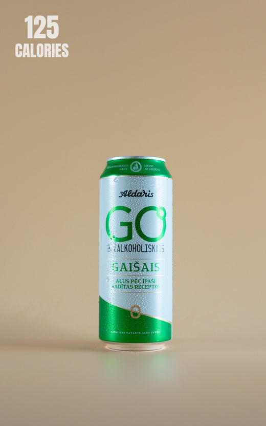 LightDrinks - Aldaris Go Alcohol Free Pilsner 0.5% - 500ml