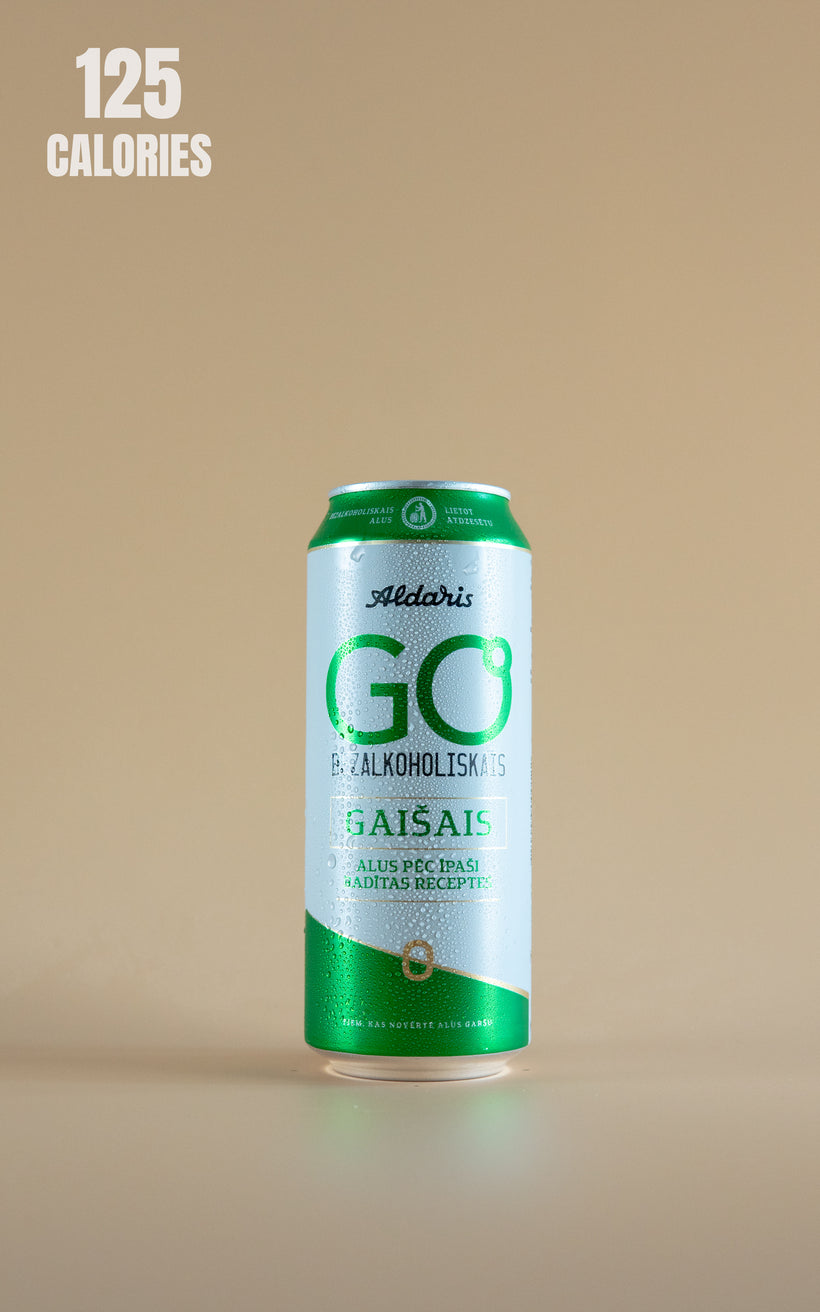 LightDrinks - Aldaris Go Alcohol Free Lager 0.5% - 500ml