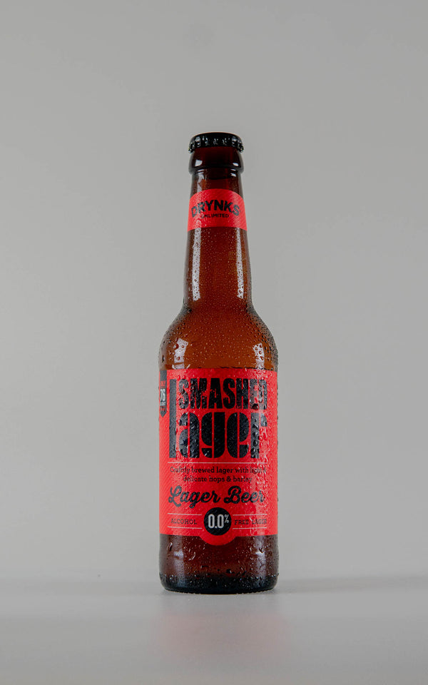 Drynks Smashed Lager 0% - 330ml